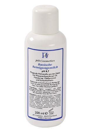 Basische Reinigungsmilch pH 8,7 100ml