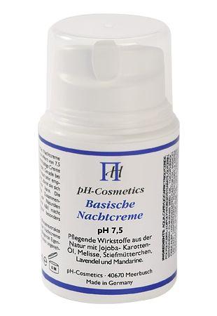Basische Nachtcreme pH 7,5 50ml