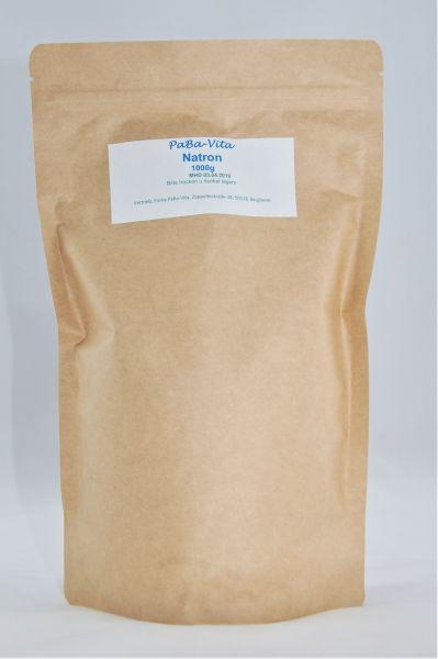 Natron - Natriumhydrogencarbonat 1 kg