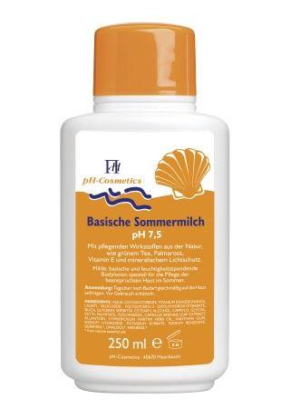 Basische Sommermilch pH 7,5 250 ml