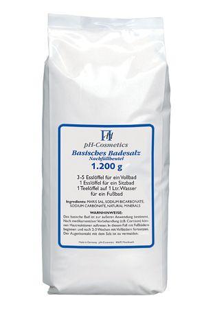 Basisches Badesalz klein - Nachfüllpack 1200 g