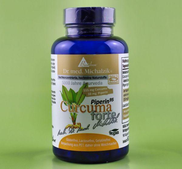 Bio Curcuma Kapseln mit Bioperine